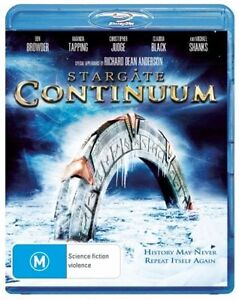 *New & Sealed*  Stargate Continuum (Blu-ray, 2008) Region B AUS