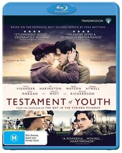 Testament Of Youth = NEW Blu-Ray