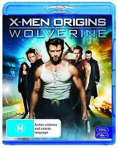 X-Men Origins - Wolverine ..BLU RAY...HUGH JACKMAN...NEW & SEALED   dvd1642