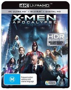 X-Men Apocalypse : NEW (4K Ultra HD - UHD) Blu-Ray