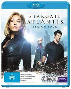 Stargate Atlantis: S4 Season 4  Blu-Ray Region B