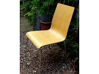 Habitat Oak Bentwood Dining Chair