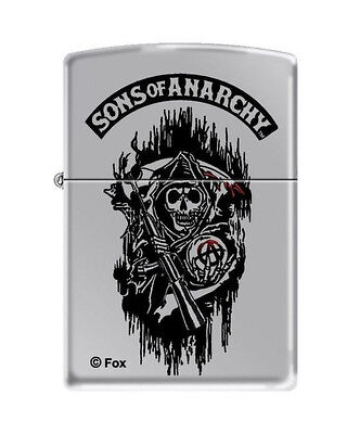 Zippo 1808 Sons Of Anarchy High Polish Chrome Full Size Lighter
