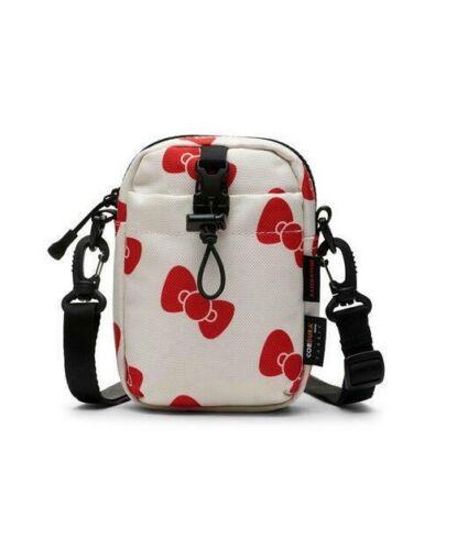 NEW Converse x Hello Kitty Unisex Phone Pouch Case Crossbody Bag COURDURA White