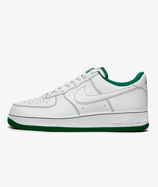 SCARPE NIKE AIR FORCE 1 '07 RAGAZZO DONNA UNISEX BIANCO VERDE Cw1575-103 NUOVE