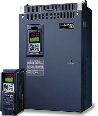 60 Hp 3 Phase 230 Volts Teco Ip 20 Variable Frequency Drive Eq7-2060-c New