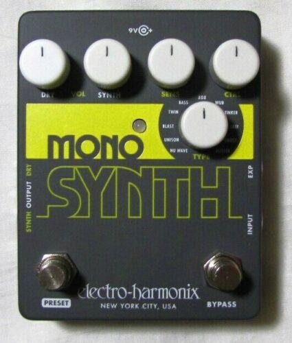 Used Electro-Harmonix EHX Mono Synth Synthesizer Guitar Pedal