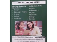 Private one to one GCSE and A-Level tuition in Aylesbury.