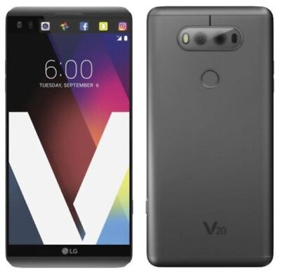 Lg V20 H918  For T Mobile Only Metro Pcs   Gsm 4G Smartphone Titan Grey 64Gb