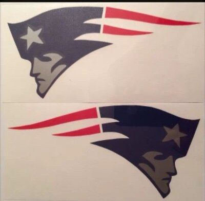 New England Patriots Qty of 2 Decals**FREE SHIPPING**