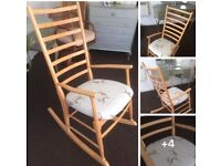 Stag Rocking Chair