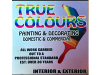 TRUE COLOURS PAINTING AND DECORATING SERVICE
