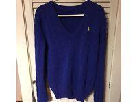 Womens blue ralph lauren jumper