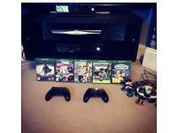 Xbox One 500GB with Kinect, Games and accessories