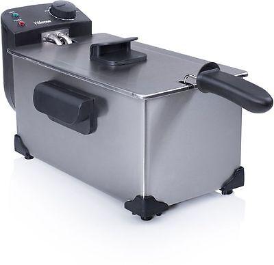 FRIGGITRICE ELETTRICA PROFESSIONALE ACCIAIO INOX 3 LT TRISTAR FR6903 WATT 2200