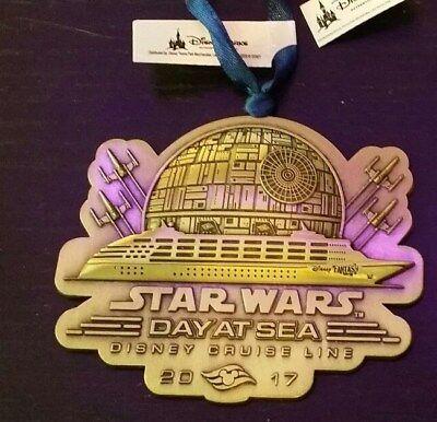 Disney Cruise Line STAR WARS DAY AT SEA 2017 Metal Disney Fantasy Ornament DCL