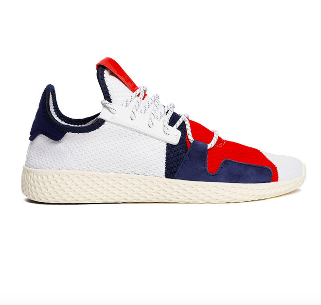 Adidas Pharrell Williams Tennis V2  Solar HU Limited Shoes BB9543 Size 4-13