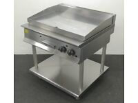 SPREAD THE COST OVER 4 MONTHS! Used Lincat Opus 900mm Chrome Griddle Plate On Stand