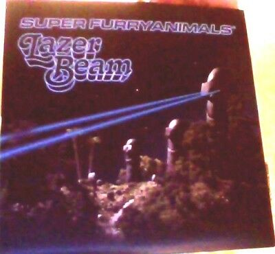 Super Furry Animals lazer beam vinyl 7""