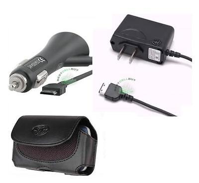 Car+wall Home Charger+case Pouch For Straight Talk/tracfone/net10 Samsung T404g
