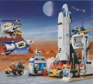 LEGO Space 6456 Mission Control Space Shuttle Town Rocket