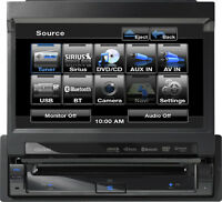 """Clarion VZ401 DVD Multimedia Station With 7"""" Touch Panel Control"""