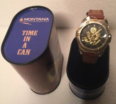 Montana silversmith time In A canLadies army watch leather band