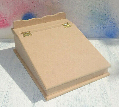 New  A4 MDF writing slope lap desk paper storage box decorate yourself