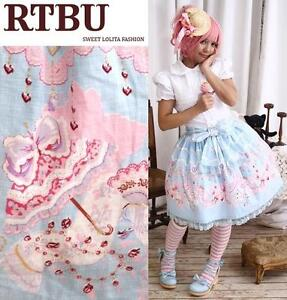 Sweet-Lolita-Victorian-Shoe-Parasol-Hat-Feather-Skirt