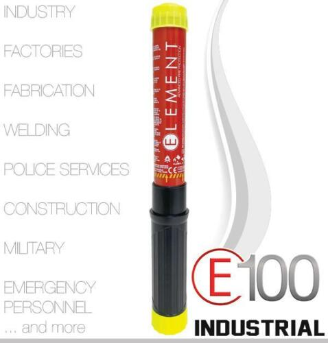 ELEMENT E100 INDUSTRIAL FIRE EXTINGUISHER - BRAND NEW