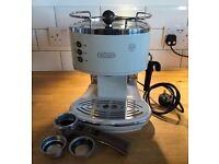 Delonghi Icona Coffee Machine Cream