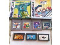 Nintendo gameboy ,gameboy colour ,gameboy advance bundle