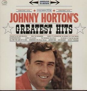 JOHNNY HORTON Vinyl LP 1961 Best Of...