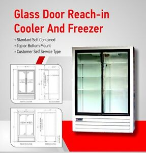 Commercial glass door fridge is available for rent/lease