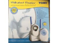 Tomy Walkabout Premier Advance Baby Monitor.