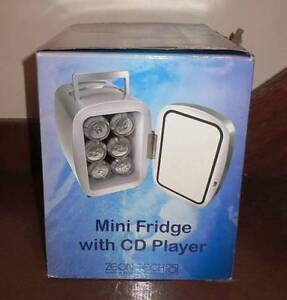 New Mini Portable Fridge with CD Player - Warm and Cool Function Eastwood Ryde Area Preview