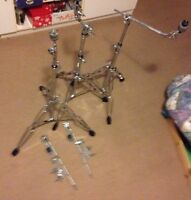 5 quality cymbal stands - open to trades