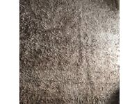 Next taupe shaggy rug large