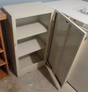 Utility Shelving and Utility Cabinet