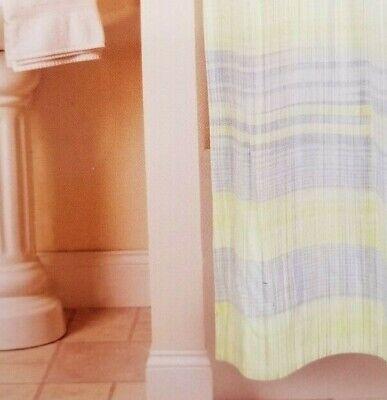Park B. Smith 100% Cotton Sumatra Cape Cod Fabric Shower Curtain 72