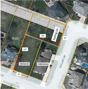 (2) PREMIUM BUILDING LOTS IN THE HEART OF LASALLE