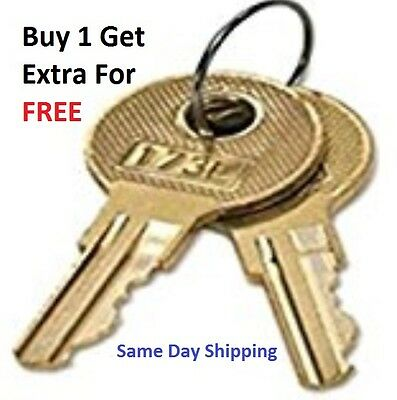 2 Anderson Hickey Hon File Cabinet Keys L700   L824 Office Furniture Keys