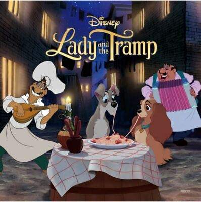 Disney Jigsaw Puzzle 240 Pieces The Lady and the Tramp Puppies Eat Spaghetti