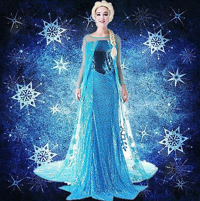 Frozen - Kleidung Karneval elsa Frau - Kleid up elsa Kostüme Frau 8899030