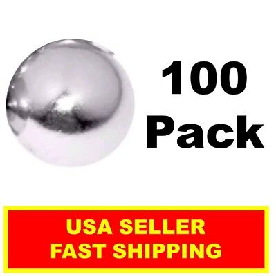 Neodymium Sphere Magnet 12 Inch N52 Super Strong Ball Rare Earth 100 Pack