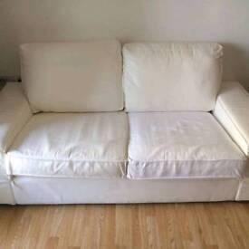 Ikea Kivik white sofa