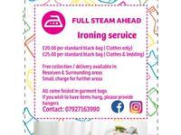 Ironing & Laundry service