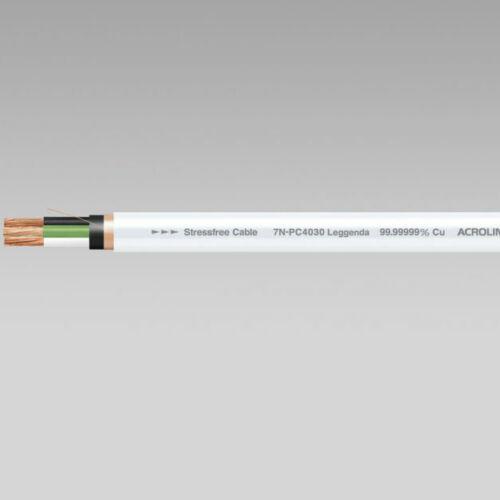 ACROLINK 7N-PC4030 LEGGENDA POWER CABLE | FITS ESOTERIC | SOLD PER 1/2 METRE