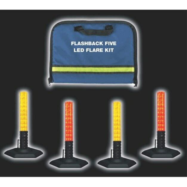 EMI Flashback Five Led Flare Kit - 2012 Traffic Safety Equipment
