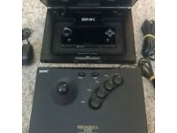 Neo Geo X Gold Games Console Bundled With Arcade Stick & 20 Games